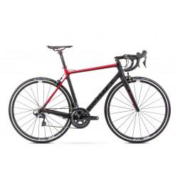 Vélo ROMET ROUTE 28 pouces HURAGAN CRD TEAM noir-rouge S