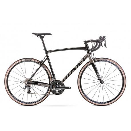 Vélo ROMET ROUTE 28 pouces HURAGAN 4 noir-gris M