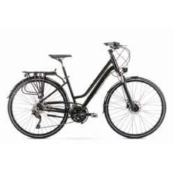 Vélo ROMET TREKKING 28 pouces GAZELA 9 noir M
