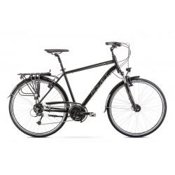 Vélo ROMET TREKKING 28 pouces WAGANT 7 noir et gris M