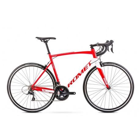 Vélo ROMET ROUTE 28 pouces HURAGAN 3 rouge-blanc S