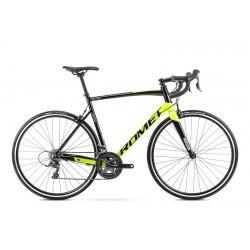 Vélo ROMET ROUTE 28 pouces HURAGAN 2 noir-vert citron M
