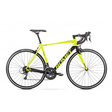 Vélo ROMET ROUTE 28 pouces HURAGAN 1 vert céladon-noir S