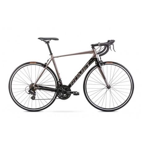 Vélo ROMET ROUTE 28 pouces HURAGAN gris-noir S