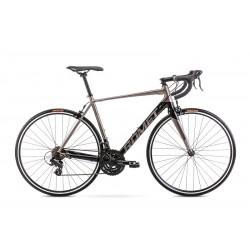 Vélo ROMET ROUTE 28 pouces HURAGAN gris-noir M