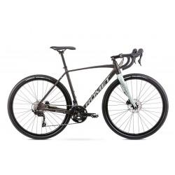 Vélo ROMET GRAVEL 28 pouces ASPRE 2 marron-gris S