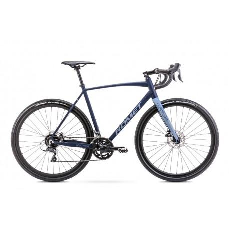 Vélo ROMET GRAVEL 28 pouces ASPRE 1 bleu marine-bleu L