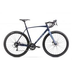 Vélo ROMET GRAVEL 28 pouces ASPRE 1 bleu marine-bleu S