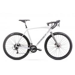 Vélo ROMET GRAVEL 28 pouces ASPRE 1 gris L