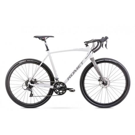 Vélo ROMET GRAVEL 28 pouces ASPRE 1 gris S
