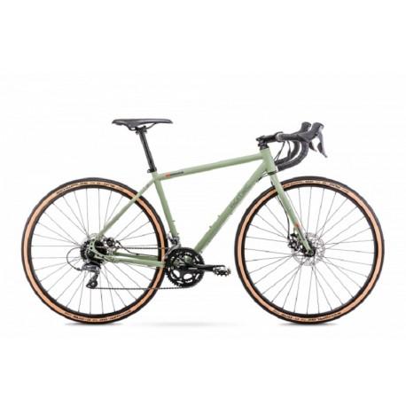 Vélo ROMET GRAVEL 28 pouces FINALE vert M