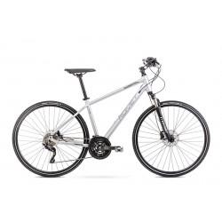 Vélo ROMET CROSS 28 pouces ORKAN 8 M argent M