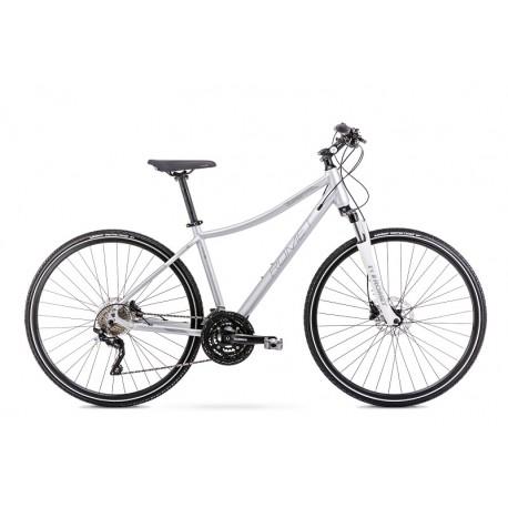 Vélo ROMET CROSS 28 pouces ORKAN 7 D argent M