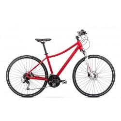 Vélo ROMET CROSS 28 pouces ORKAN 6 D rouge L