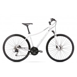 Vélo ROMET CROSS 28 pouces ORKAN 4 D blanc M