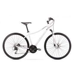 Vélo ROMET CROSS 28 pouces ORKAN 4 D blanc L