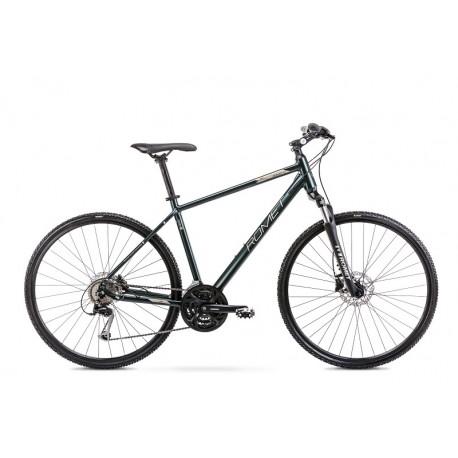 Vélo ROMET CROSS 28 pouces ORKAN 4 M rouge graphite L