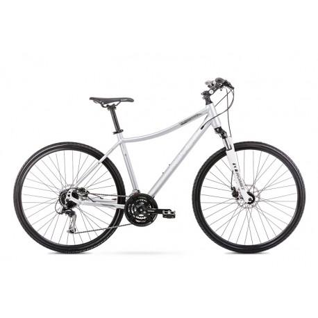 Vélo ROMET CROSS 28 pouces ORKAN 3 D argent L