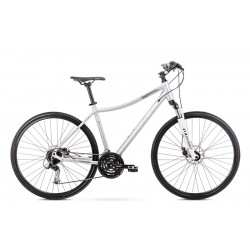 Vélo ROMET CROSS 28 pouces ORKAN 3 D argent M