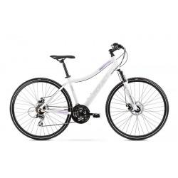 Vélo ROMET CROSS 28 pouces ORKAN 1 D blanc-violet S