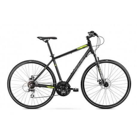 Vélo ROMET CROSS 28 pouces ORKAN 1 M noir et vert L