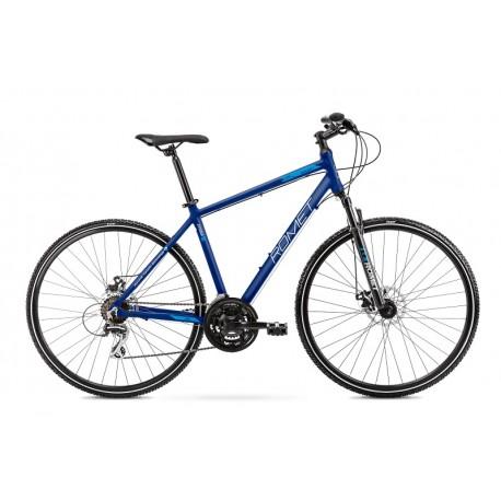 Vélo ROMET CROSS 28 pouces ORKAN 1 M bleu L