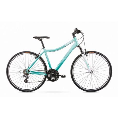 Vélo ROMET CROSS 28 pouces ORKAN D turquoise S