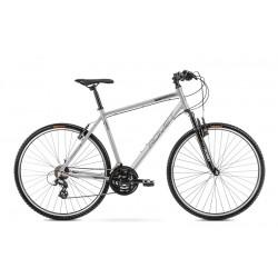 Vélo ROMET CROSS 28 pouces ORKAN M argent-gris M