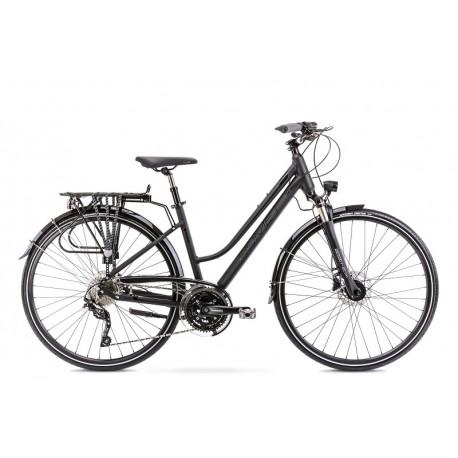Vélo ROMET TREKKING 28 pouces GAZELA 9 noir L