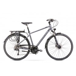 Vélo ROMET TREKKING 28 pouces WAGANT 9 gris M