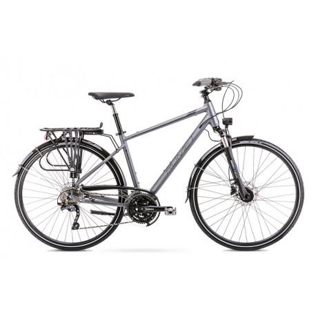 Vélo ROMET TREKKING 28 pouces WAGANT 9 gris L