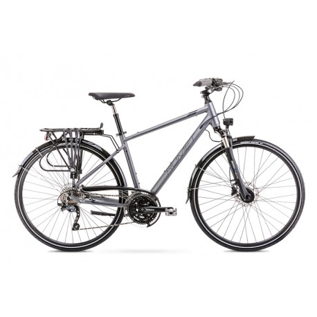 Vélo ROMET TREKKING 28 pouces WAGANT 9 gris XL
