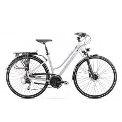 Vélo ROMET TREKKING 28 pouces GAZELA 8 gris L