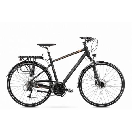 Vélo ROMET TREKKING 28 pouces WAGANT 8 noir-cuivre M