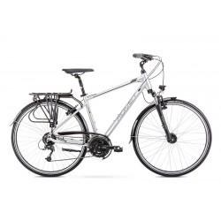 Vélo ROMET TREKKING 28 pouces WAGANT 7 argent-noir M