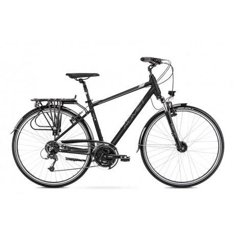 Vélo ROMET TREKKING 28 pouces WAGANT 7 noir-gris XL