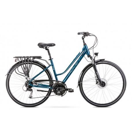 Vélo ROMET TREKKING 28 pouces GAZELA 6 bleu M