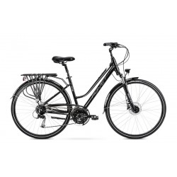 Vélo ROMET TREKKING 28 pouces GAZELA 6 noir M