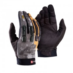 Moab Trail Gants Gris/Orange