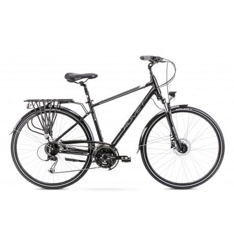 Vélo ROMET TREKKING 28 pouces WAGANT 6 noir-argent L