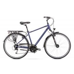 Vélo ROMET TREKKING 28 pouces WAGANT 5 bleu foncé M