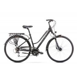 Vélo ROMET TREKKING 28 pouces GAZELA 4 noir-gris L