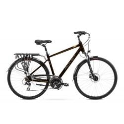 Vélo ROMET TREKKING 28 pouces WAGANT 4 marron-or M