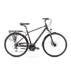 Vélo ROMET TREKKING 28 pouces WAGANT 4 noir-blanc M