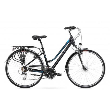 Vélo ROMET TREKKING 28 pouces GAZELA 3 noir-bleu M