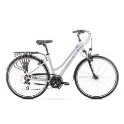 Vélo ROMET TREKKING 28 pouces GAZELA 3 gris-violet M