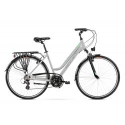 Vélo ROMET TREKKING 28 pouces GAZELA 1 gris clair vert L