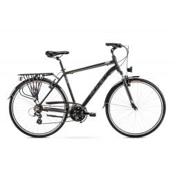Vélo ROMET TREKKING 28 pouces WAGANT 1 noir-Champagne L
