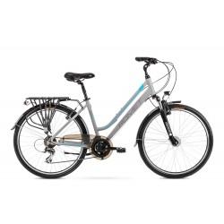 Vélo ROMET TREKKING 26 pouces GAZELA 26 2 gris clair-bleu S