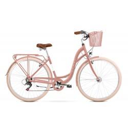 Vélo ROMET CITY 28 pouces SONATA ECO rose M